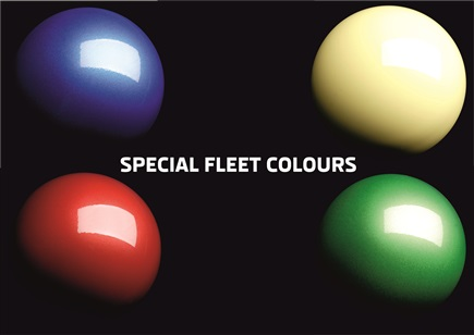 Fleet colours set
